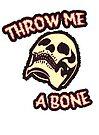 Throw Me A Bone | Retro Spooky by retroready