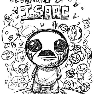 The binding of Isaac art #1 by Rattaspi