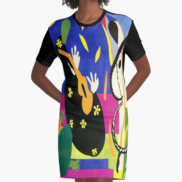 The Sorrows of the King - Henri Matisse Graphic T-Shirt Dress