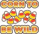 Corn To Be Wild | Retro Spooky by retroready