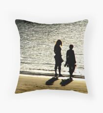 I wish we could stay........ Throw Pillow
