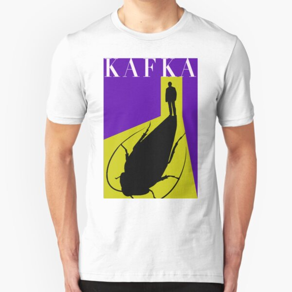 Franz Kafka | Metamorphosis Slim Fit T-Shirt