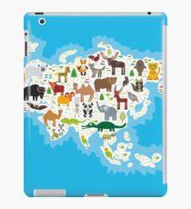 Eurasia Animal Map iPad Case/Skin