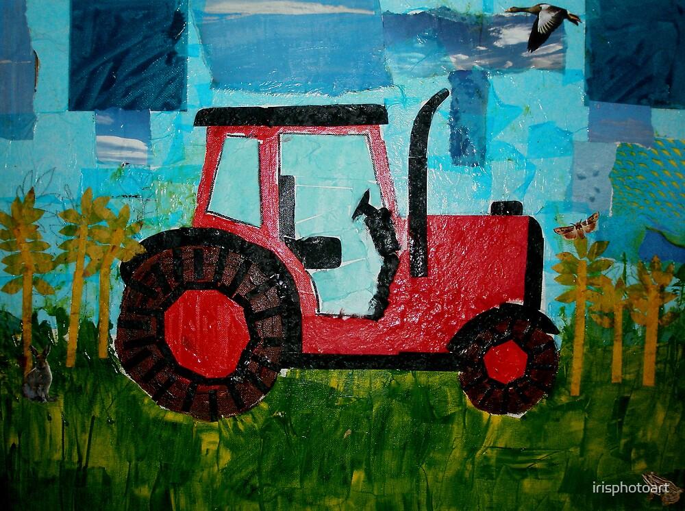 Tractor by irisphotoart