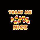 Treat Me Nice | Retro Spooky by retroready