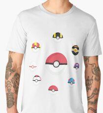 Pokeballs Men's Premium T-Shirt