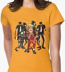 Trump Halloween Thriller Women's Fitted T-Shirt