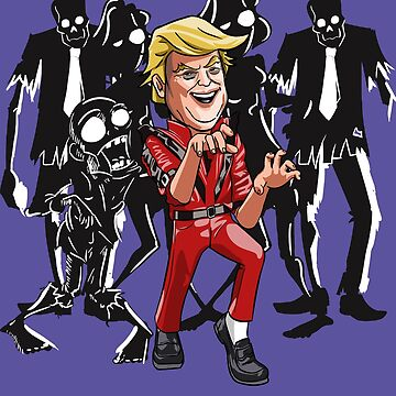 Trump Halloween Thriller by HandDrawnTees