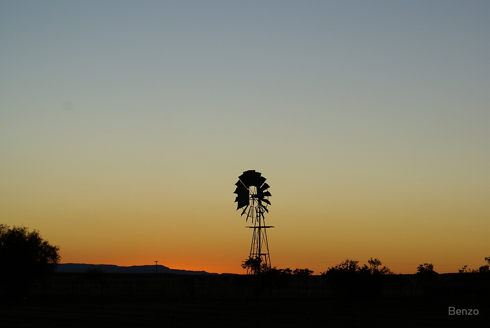 Sunrise in Namaqualand - South Africa by Benzo