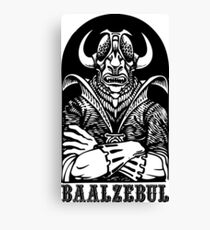 AD&D: Baalzebul Canvas Print