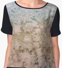 Watercolor: the texture of clouds Women's Chiffon Top