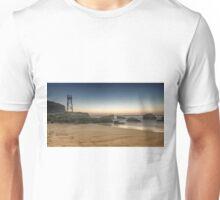 Redhead Beach Shark Tower Unisex T-Shirt