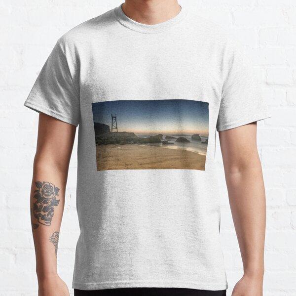 Redhead Beach Shark Tower Classic T-Shirt