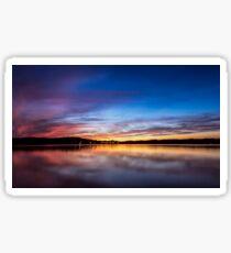 Lake Lanier Sunset I Sticker