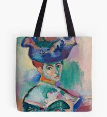 Woman with a Hat -  Henri Matisse Tote Bag