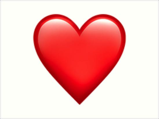 Láminas Artísticas «Corazón Emoji» De Larsmonsen21