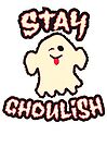 Stay Ghoulish | Retro Spooky by retroready