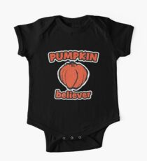 Pumpkin Believer | Retro Spooky One Piece - Short Sleeve