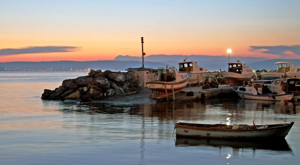 Turkish Sunset by Lambros