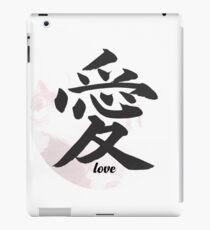 Love Kanji iPad Case/Skin