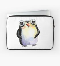Cute Watercolour Animals Penguin Laptop Sleeve