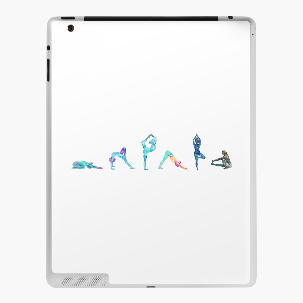 Yoga Flow Ipad Case Skin By Balgrittella Redbubble