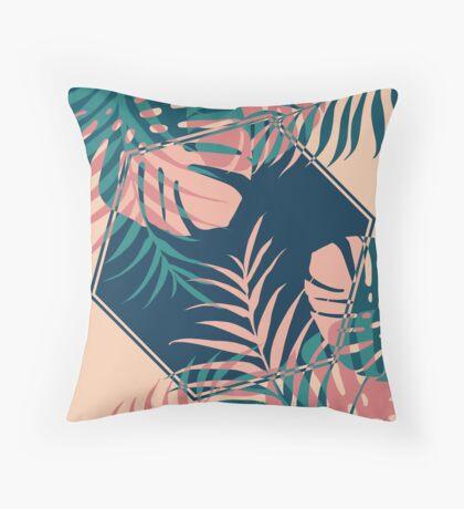 Tropical Dreams #redbubble #decor #buyart Throw Pillow