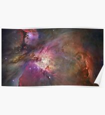 Orion Nebular (Milky Way Galaxy) HD Photograph Poster