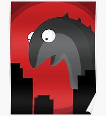 Beware The Sock Monster  Poster
