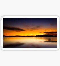 Lake Lanier Sunrise II Sticker