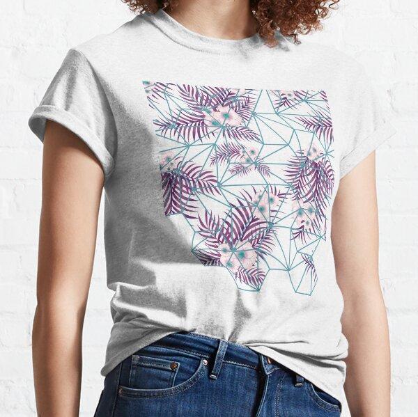 Tropical Fluo Tiles Classic T-Shirt