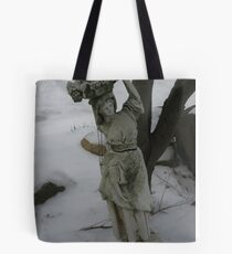 winter in Wadsworth Tote Bag