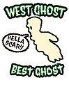 West Ghost Best Ghost | Retro Spooky by retroready