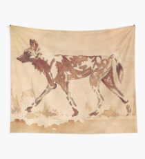 Painted Dog - Afrikanischer wilder Hund Wandbehang