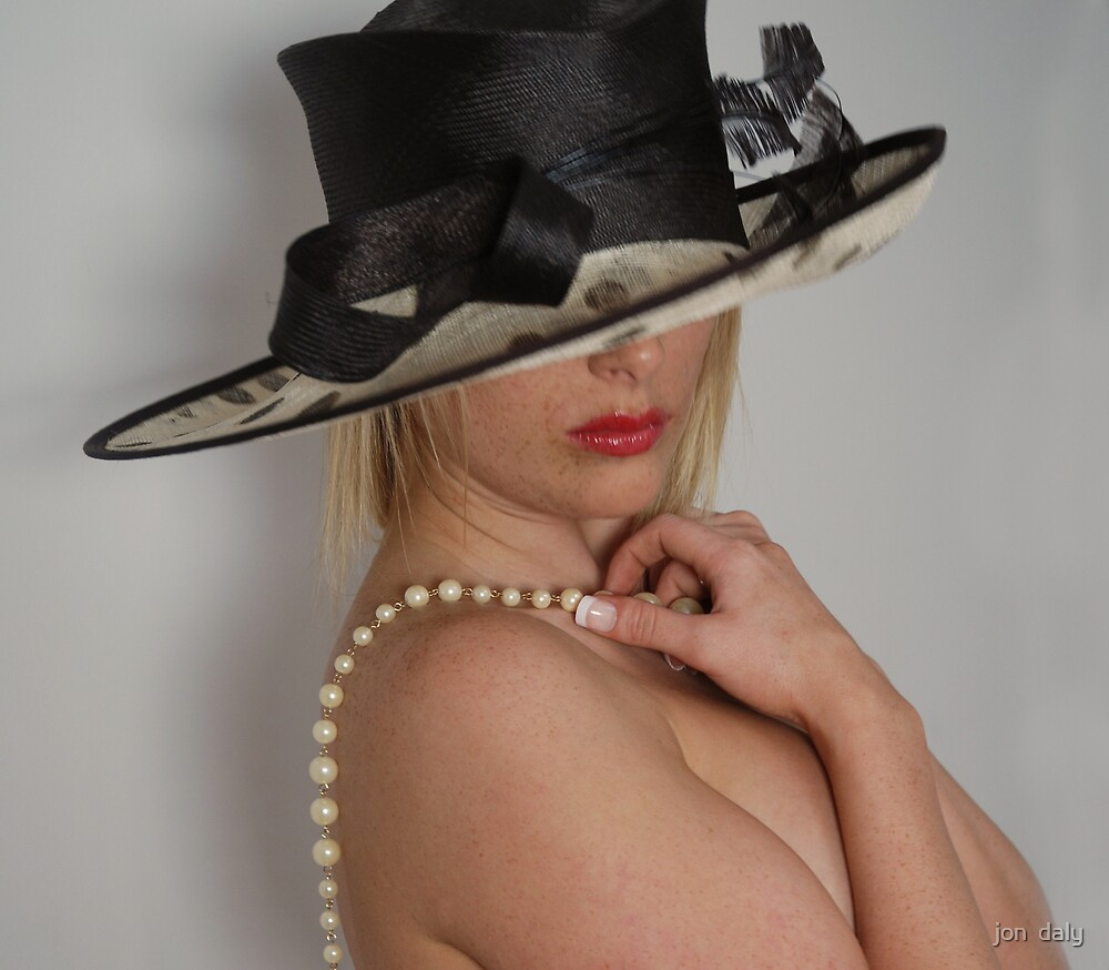 hat'n'pearls by jon  daly