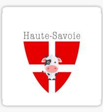 Haute-Savoie Cow Sticker