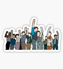 Newsies Newsboys Strong and Defiant Sticker