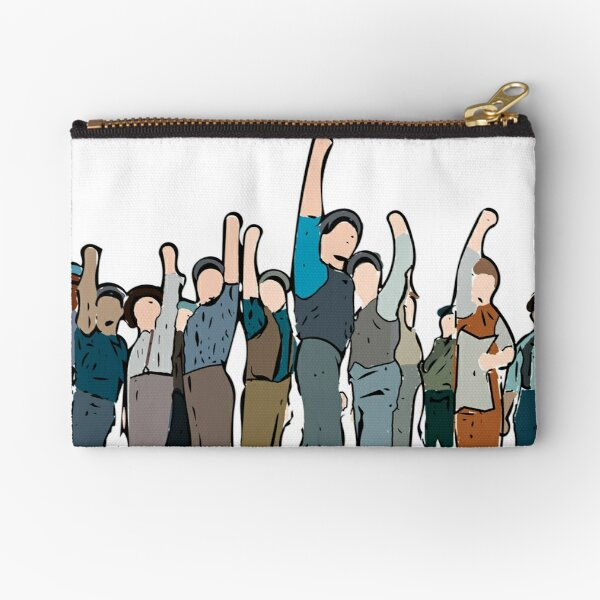 Newsies Newsboys Strong and Defiant Zipper Pouch
