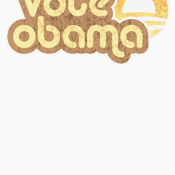 Vote Obama Retro t shirt by barackobama