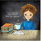 Teacher Coffee 11 by cardwellandink