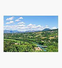 Rural Alpes-de-Haute-Provence in the Summer Photographic Print