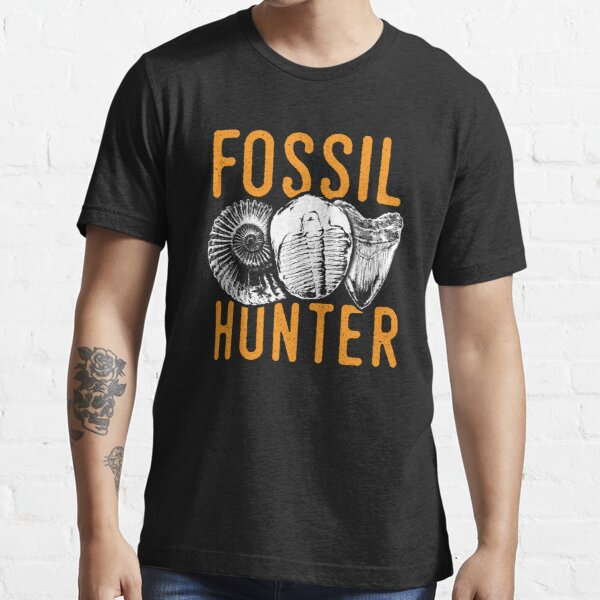 Fossil hunter tshirt - great for rockhounds & paleontologists Essential T-Shirt