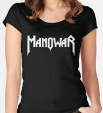 Manowar Women's Fitted Scoop T-Shirt