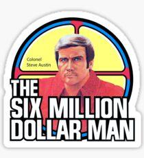 The Six Million Dollar Man and Maskatron / Toys Tribute Sticker
