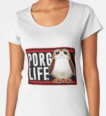 Porg Life Women's Premium T-Shirt