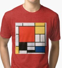 Piet Mondrian, Composition in red, yellow, blue and black Tri-blend T-Shirt