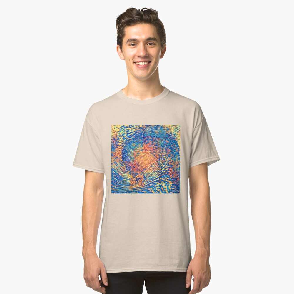 Abstract Wave Classic T-Shirt