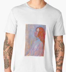 Devotion by Piet Mondrian, 1908 Men's Premium T-Shirt