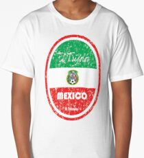 Football - Mexico (Distressed) Long T-Shirt