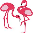Flamingo Flamingle by Natalie Perkins